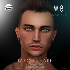 [ west end ] Shapes - Jarod (Catwa Daniel Bento) AD