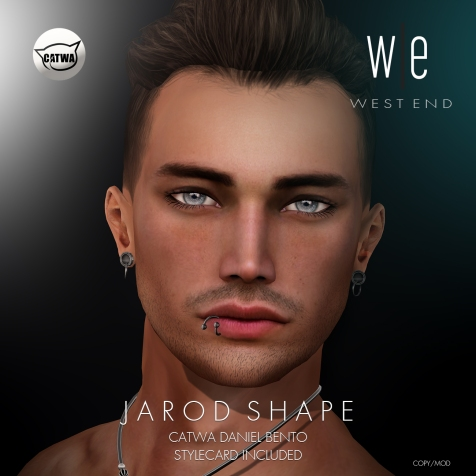 [ west end ] Shapes - Jarod (Catwa Daniel Bento) AD