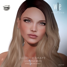 [ west end ] Shapes - Juliette (CATWA Pink Bento) AD