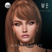 [ west end ] Shapes - Miranda (Catwa Catya Bento) AD