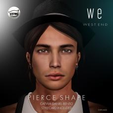 [ west end ] Shapes - Pierce (Catwa Daniel Bento) AD