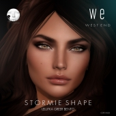 [ west end ] Shapes - Stormie (Lelutka greer Bento) AD