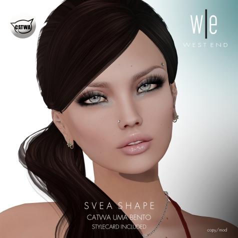 [ west end ] Shapes - Svea (CATWA Uma Bento) AD