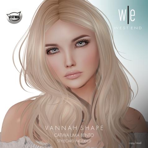[ west end ] Shapes - Vannah (CATWA Uma Bento) AD