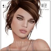 [ west end ] Shapes - Enya (Lelutka Greer Bento) AD