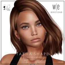 [ west end ] Shapes - Tasha (Lelutka Greer Bento) AD