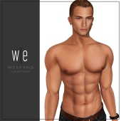 [ west end ] Shapes - Will (CATWA Daniel Bento) AD-MP-FULL BODY