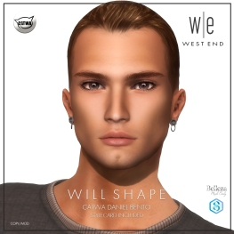 [ west end ] Shapes - Will (CATWA Daniel Bento) AD