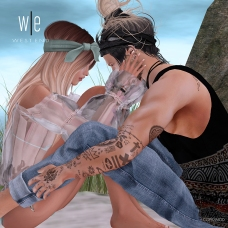 [ west end ] Bento Poses - It's Just You and Me - Couples Pose - 1000