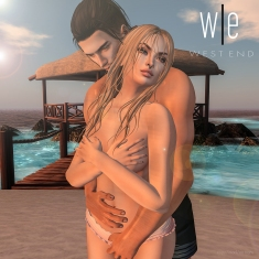 [ west end ] Slave to Your Love Couples Pose AD1-1000