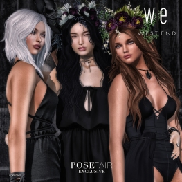 [ west end ] Bento Poses -Cover - Friends Pose AD 1100