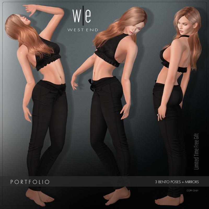 [ west end ] Bento Poses - Portfolio - Single Pose Set - LIMITED AD