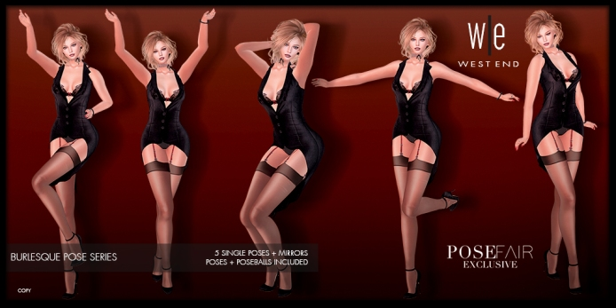 [ west end ] Poses - Burlesque - Single Pose Collection AD-pfe2-1024