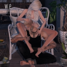 [ west end ] Poses - The Silent Fire - Couples Pose AD-1000
