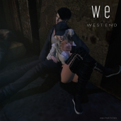 [ west end] Poses - Slouch - Couples Pose AD WEB