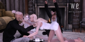 [ west end ] Poses - Spin The Bottle - Friends Pose WEB