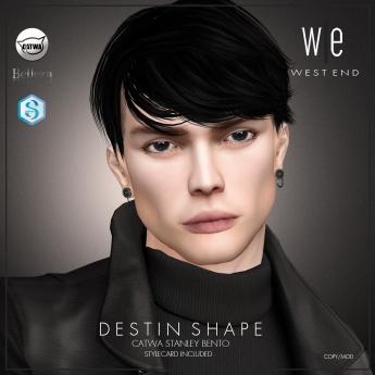 [ west end ] Shapes - Destin (Catwa Stanley Bento) AD2