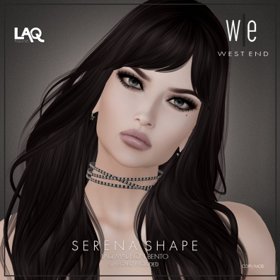 [ west end ] Shapes - Serena (LAQ Madison Bento) AD