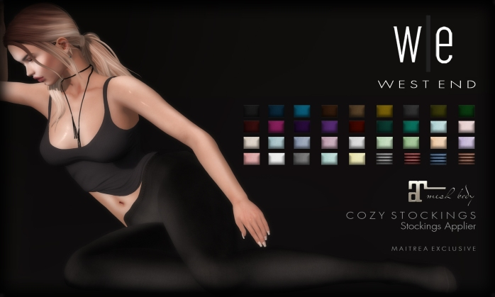 [ west end ] Apparel - Cozy Stockings - Fatpack AD1
