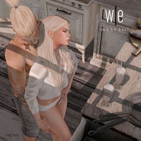 [ west end ] Poses - Being Us - Couples Pose - 2048
