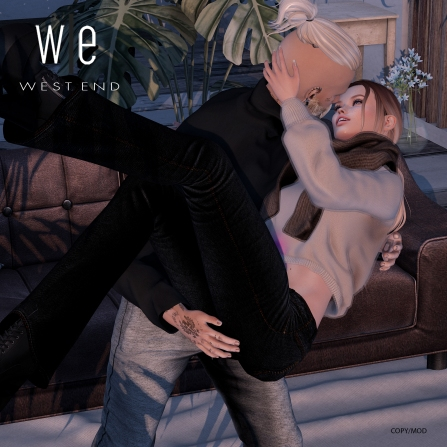 [ west end ] Poses - Hold On - Couples Pose