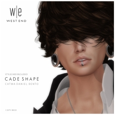 [ west end ] Shapes - Cade (Catwa Daniel Bento) AD