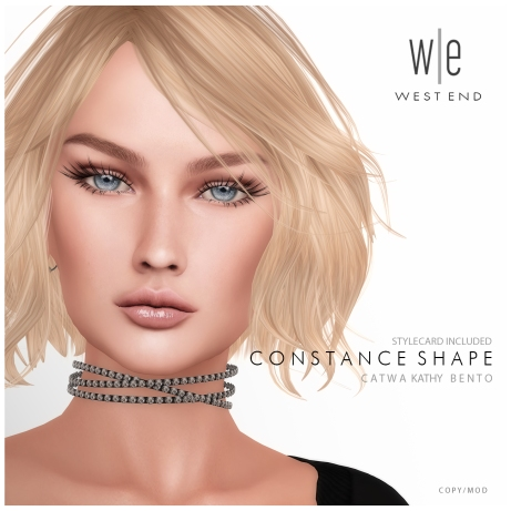 [ west end ] Shapes - Constance (Catwa Kathy Bento) AD 1300