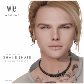 [ west end ] Shapes - Shane (Catwa Victor Bento) AD