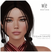 [ west end ] Shapes - Tegan (Catwa Ciara Bento) AD 1300