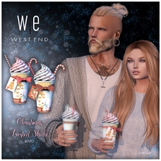 [ west end ] Bento - Christmas Frosted Shake - Unisex AD 1300 72