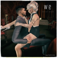 [ west end ] Poses - Gratuity - Couples Pose AD 1300