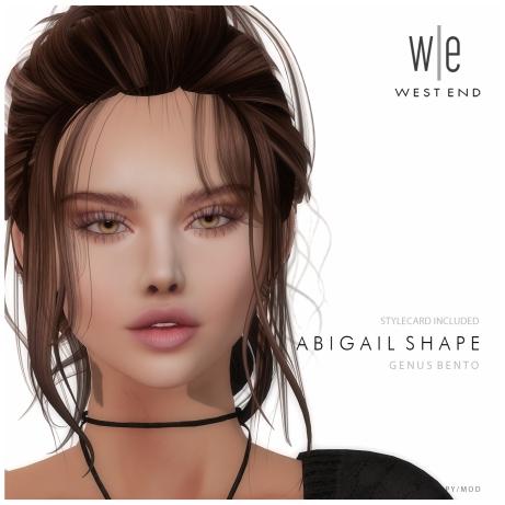 [ west end ] Shapes - Abigail (Genus Bento) AD