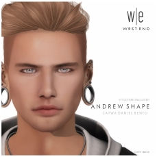[ west end ] Shapes - Andrew (Catwa Daniel Bento) AD