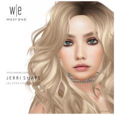 [ west end ] Shapes - Jerri (Lelutka Chloe Bento) AD-V3.3