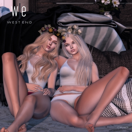 [ west end ] poses - broken wings - friends pose ad - 1300