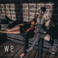 [ west end ] poses - fwb - group pose ad - pfe