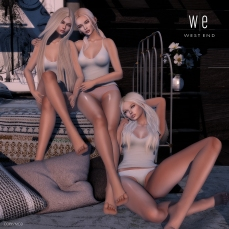 [ west end ] poses - naughty angels - friends pose ad - 1300