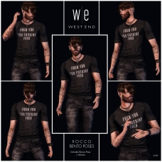 [ west end ] Bento Poses - Rocco - Single Male Set AD 1300