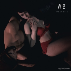 [ west end ] Poses - Cradled - Couples Pose AD - 1300