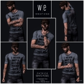 [ west end ] Bento Poses - Patrick - Single Male Set AD 1300