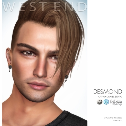 [WEST END] SHAPES - DESMOND (CATWA DANIEL BENTO) AD