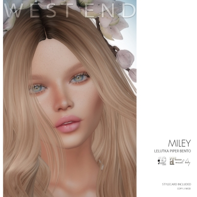 [WEST END] SHAPES - MILEY (LELUTKA PIPER BENTO) AD