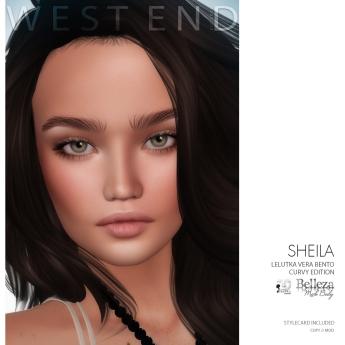 [ west end ] Shapes - Sheila (Lelutka Vera Bento) (Freya) AD