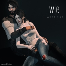 [ west end ] I Feel Complete - Couples Pose 1300