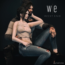 [ west end ] Just Being With You - Couples Pose 1300