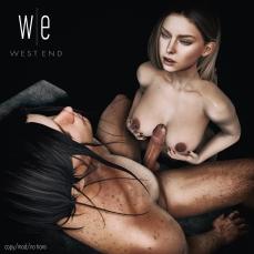 [ west end ] Enveloped - After Dark Couples Pose - 1300