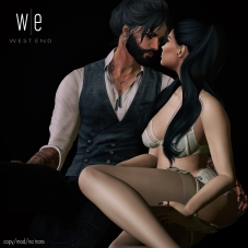 [ west end ] Poses - I Love You - Couples Pose AD
