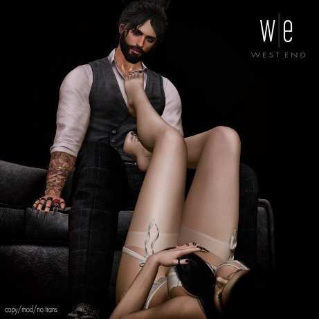 [ west end ] Poses - Notice Me - Couples Pose AD