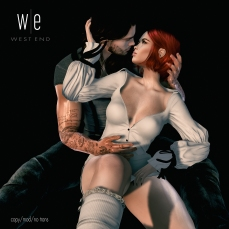 [ west end ] Poses - Entangled - Couples Pose AD