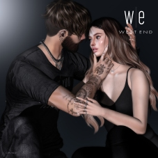 [ west end ] Bento Poses - At Close Range - Couples Pose AD - 1300